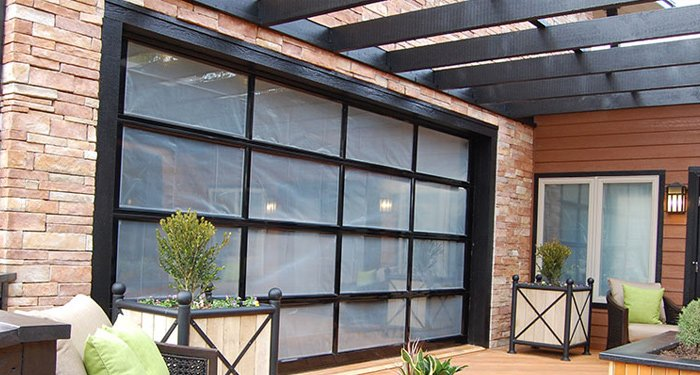 Clopay Avante Collection Aluminum Glass Garage Doors