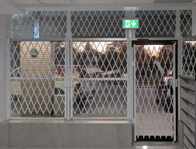 Commercial Folding Gates