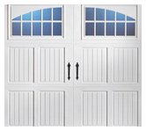 Residential Steel Carriage Door
