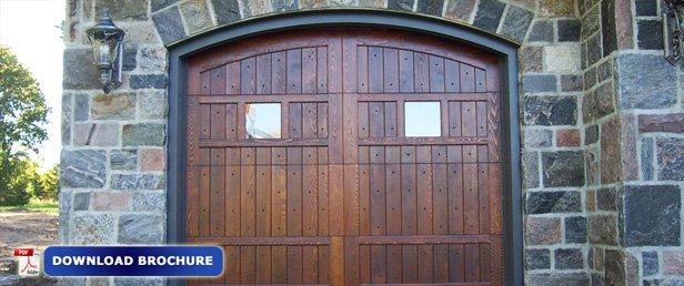 Wood Carriage Doors Oakville Burlington Mississauga Gta