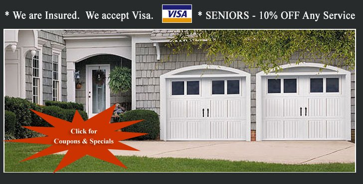 Garage Doors Special and Coupons, Mississauga, Oakville