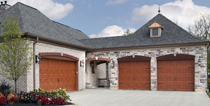 Wooden and Carriage House Garage Doors in the  Western Toronto Area